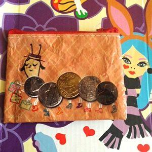 Blue Q Moneypede Coin Purses👉❤